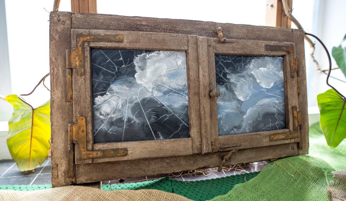 Kunstwerke aus der Ergo- und Gestaltungstherapie
