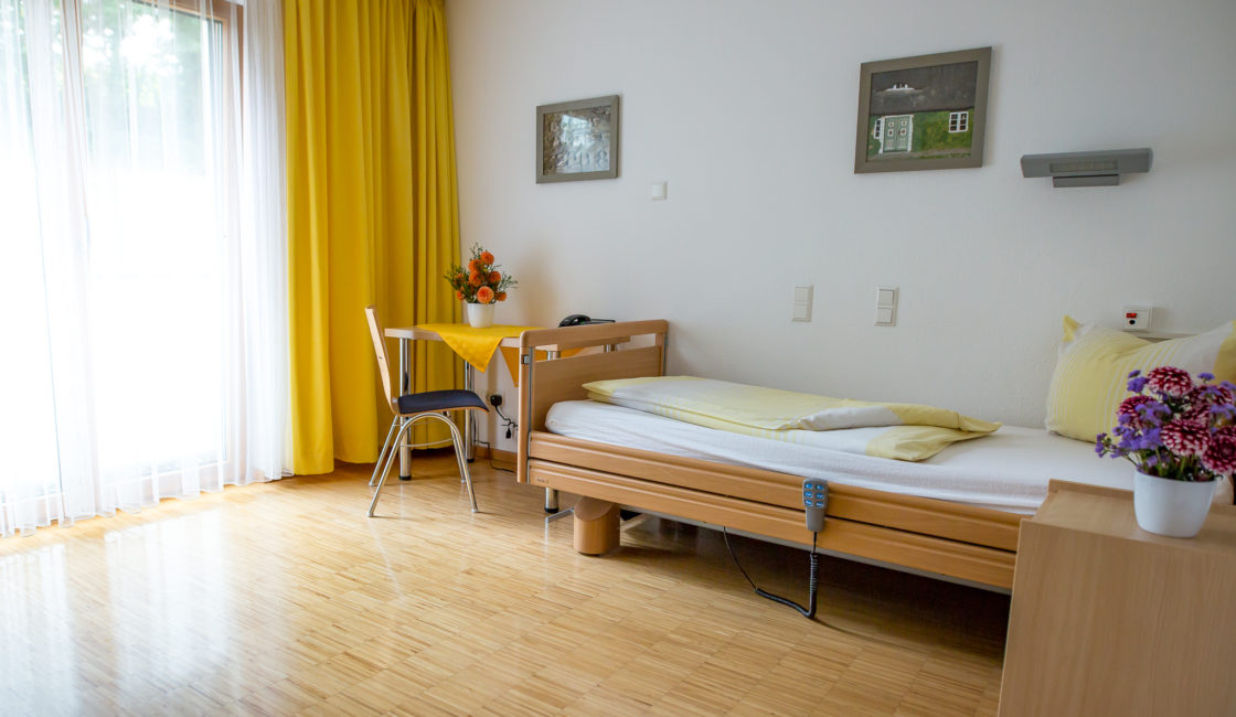 Barrierefreies Einzelzimmer